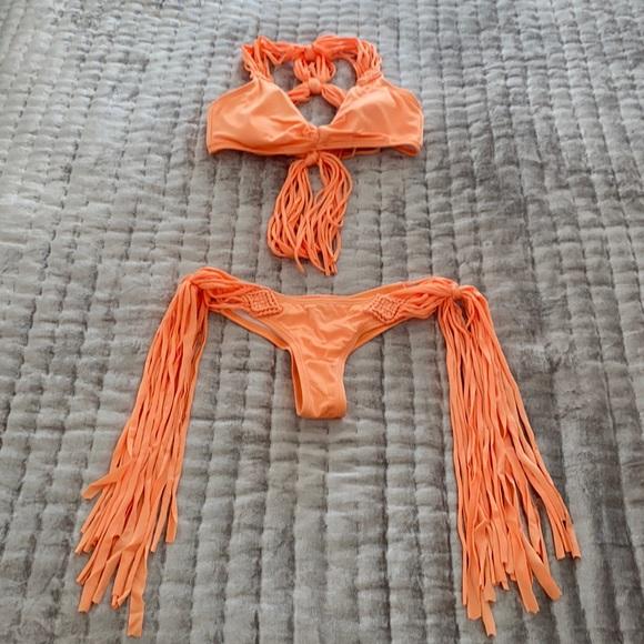 Victoria's Secret Fringe Macrame Bikini
